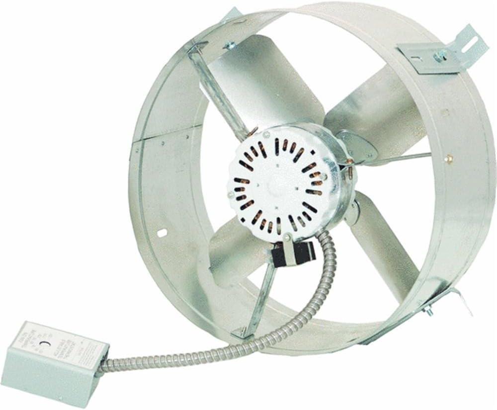 Cool Attic CX200 Gable Mount Power Attic Ventilator with 20.20 Amp ...