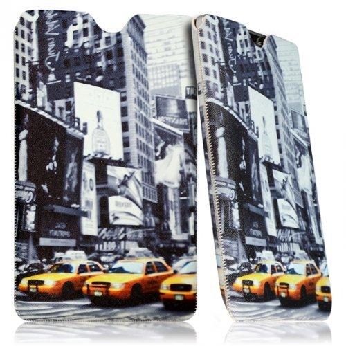 Seluxion Schutzhülle Tasche Universal M Dessin LM06 für: Archos Diamond Tab 20 cm (7,9 Zoll) 79, 80c, Platinum Xenon
