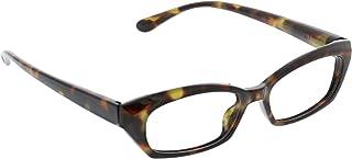 Peepers by PeeperSpecs Women's Viewpoint Rectangular Reading Glasses, Tortoise - Focus Blue Light Filtering Lenses, 52 mm...