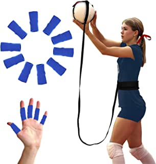 BFVV Volleyball Training Equipment Aid- Solo Practice for Serving and Arm Swings Trainer 10 Finger Protection Included Gifts for Daughter, Volleyball Players, Sister, Friend