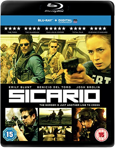 Sicario [Blu-ray] [Region Free] UK-Import, Sprache-Englisch.