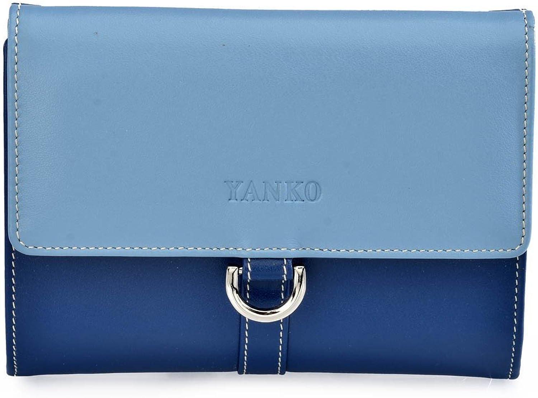 Yanko 7322-981, Damen Damen Damen Damen-Geldbörse Blau blau Größe unica B07DCPFBL2 bf78ce