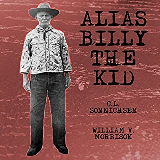 Alias Billy the Kid audiobook cover art
