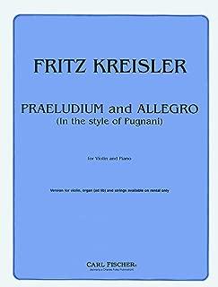 Praeludium and Allegro (In the Style of Pugnani)