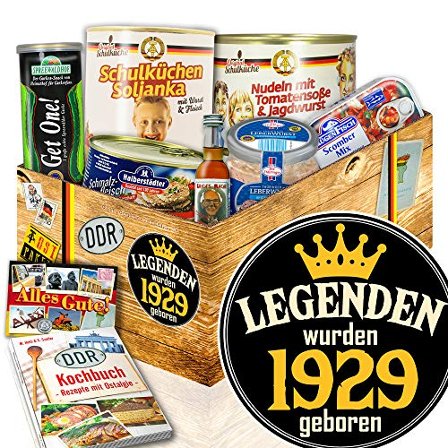 Legenden 1929 / DDR Paket / Präsentkorb Geburtstag / Ostprodukte Set
