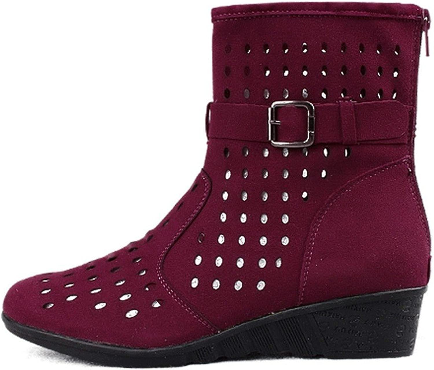 WXMDDN The Girl Dance shoes Latin Dance shoes Purple red Leather Soft, Latin Dance shoes and Dance shoes.