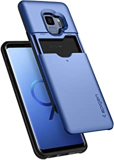 Spigen Slim Armor CS [Updated Version] Designed for Galaxy S9 Case (2018) - Coral Blue