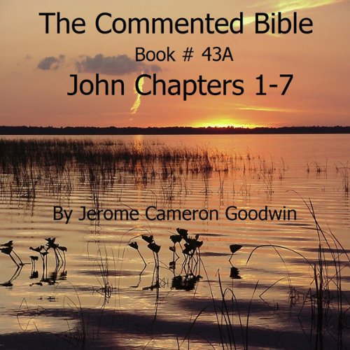 The Commented Bible: Book 43A - John audiobook cover art