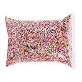 Big Pack Styrofoam Foam Balls Slime Beads 3-4mm Micro Polystyrene Foam Balls for DIY Art Craft Floral Decor(2300ml) (Multi-Color)