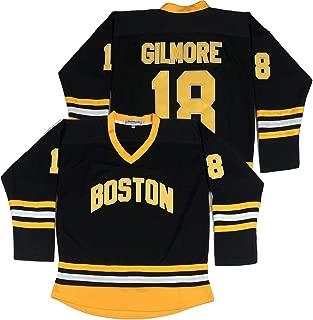 Boston Happy Gilmore #18 Adam Sandler 1996 Movie Ice Hockey Jersey Stitched