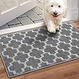 WISELIFE Door Mat Indoor Outdoor Floor Mat,20'x32', Non-Slip Absorbent Front Back Doormat Entryway...