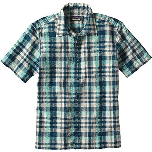 Patagonia M's Puckerware T-Shirt pour Homme XS Rose (Flora Pink)