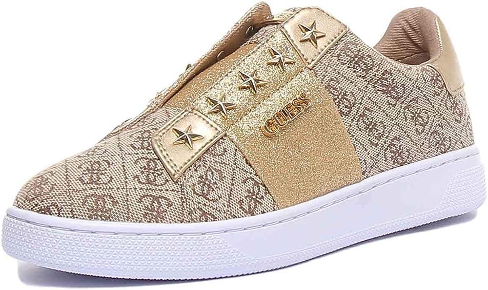 Guess, scarpe donna sneakers,in tessuto,senza lacci Fl5Rs2Fal12