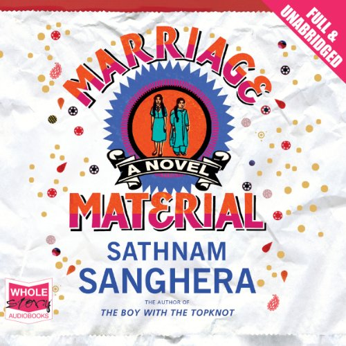 Marriage Material audiobook cover art