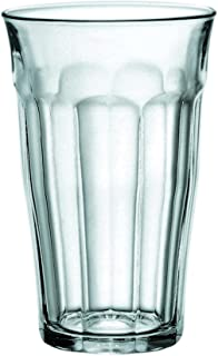 Duralex 1030AB06/6 Picardie Water Glass without Filling Mark, 500ml, Pack of 6