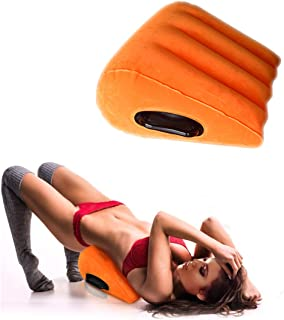 Sex Toys Pillow Wedge Positioning Cushion Triangle Sex Pillow Misstu Sex Furniture Inflatable Ramp for Couples Deeper Penetration Women Men Relaxation
