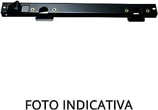 Dilwe Paraurti Auto RC Paraurti Posteriore in Metallo con Telaio della Ruota di scorta del Auto Telecomando SCX10