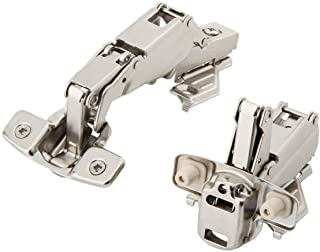 Silverline Lazy Susan Corner Hinge Clip On 165 Angle Cabinet Hardware with Face Frame Base Plate 1 Pair