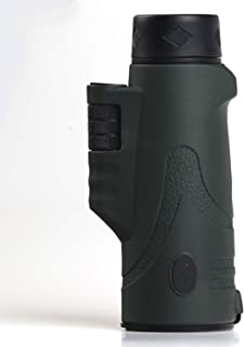 mimi forever 10x42 4 Colors Multi-Coated Prism monocular Hunting Bird Watching Travel Telescope,Dark Green