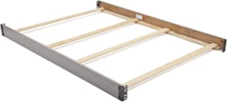 Full Size Conversion Kit Bed Rails for Delta Children's & Simmons Kids Rowen Crib - Grey