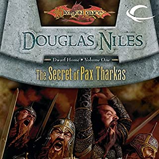 The Secret of Pax Tharkas audiobook cover art