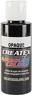 Createx 5211-02 Opaque Airbrush Color, Black, 2 oz
