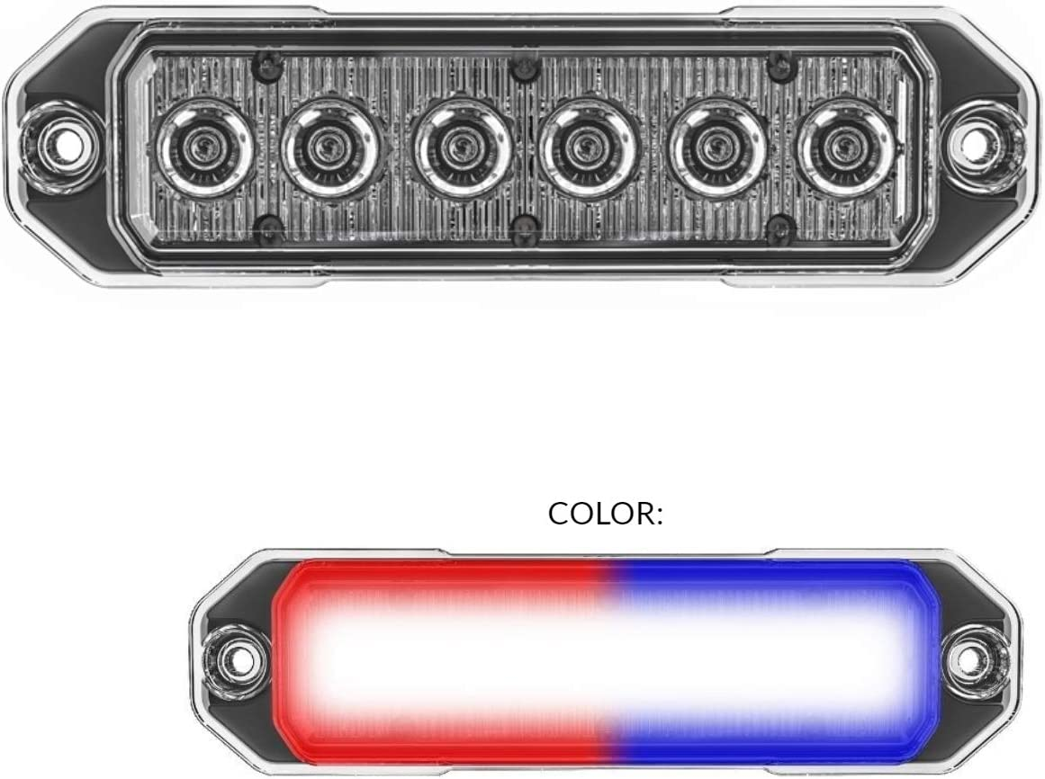 SpeedTech Over item handling Lights Z-6 TIR 18W shop LED for Police Strobe Light C Cars