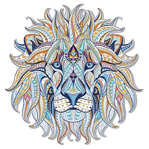 5 hojas camiseta jeans MWOOT Flor cr/áneo patr/ón Dream Catcher Wolf Lion parches calcoman/ías de transferencia de calor para mujeres Unicornio Transferencia t/érmica de hierro en parches hombres