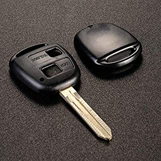 ENMOON Remote Key Fob Shell (2 Button) for Toyota Rav4 /Land Cruiser/Previa Yaris Corolla Avensis