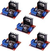 MELIFE 5Pack L298N Stepper Motor Driver Controller Board Dual H Bridge Module for Arduino Smart Car Power UNO MEGA R3 Mega...