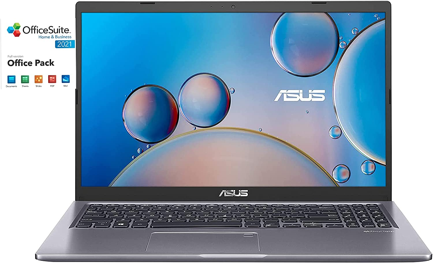 Max 61% OFF ASUS F515JA Home and Entertainment Intel OFFicial Laptop i5-1035G1 4-Cor