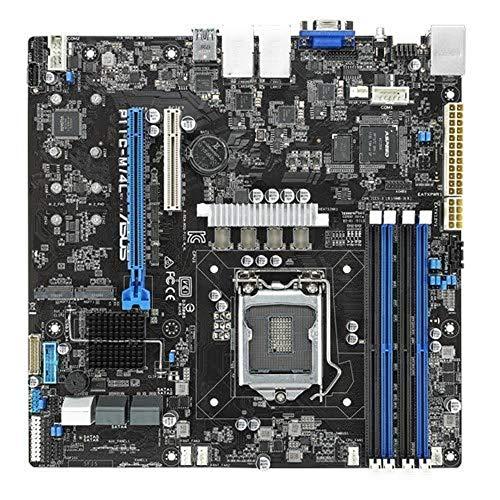 Asus server P11C-M/4L scheda madre professional Intel Xeon E-2100 socket 1151, DDR4 2666 max 64 gb, chipset Intel C242,formato UATX, 4 x Intel® I210AT + 1 x Mgmt, software asus control center