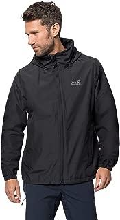 Jack Wolfskin Stormy Point Jacket Men's Lightweight Waterproof Rain Jacket