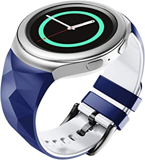 ANCOOL Compatible with Gear S2 Band, Soft Silicone Sport Band Replacement for Samsung Gear S2 SM-R720/ SM-R730 Smartwatche...
