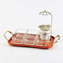 Fruit Bowl,Candy Plate,Fruit Plate Basket,glassDecorative,Steel Fruit Basket Display Stand,Modern Supplies Rack,for hen St...