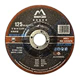 Merryland 125 X 6,0 Expert-line Disques à Ébarber pour Acier Métal 10PCS