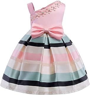 Lining Baby Girls Dress Wedding Party Dresses Kids Princess Summer Dress