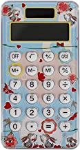 $25 » Mini Cute Calculator Candy Color 8 Digits LCD Display Calculator Pocket Electronic Calculator for School Home Or Office (C...