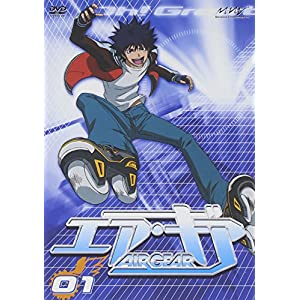 AIR GEAR DVD 01""