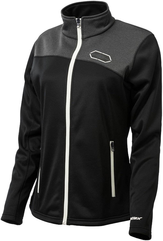 Castle X Racewear Fusion G2 Womens MidLayer Jacket Black White XL