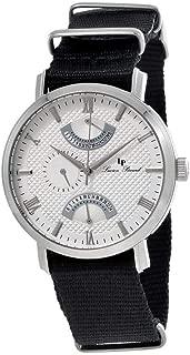 Verona Silver Dial Dual Time Men's Watch 10340-02S-NS