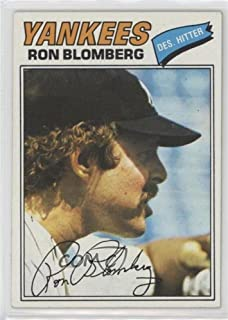 Ron Blomberg (Baseball Card) 1977 Topps - [Base] #543