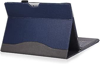 forubar Laptop Cover Case for Microsoft Surface go 10 inch Enhanced Version – Premium PU Leather Detachable Protective Flip Folio Case (Blue)