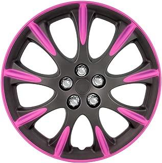 AutoStyle KT213/ color plateado 13 /Tapacubos /13S//fundas para ruedas de l Set/