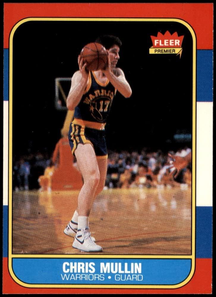 Max 81% OFF 1986 Fleer # 77 Max 82% OFF Chris Mullin C State Golden Basketball Warriors