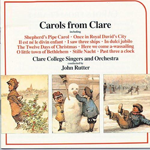Clare College Singers, Cambridge, Clare College Orchestra, Cambridge & John Rutter