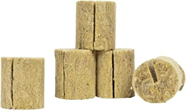 Grodan Rockwool Plant Plugs, Macro, 55-Pack + Twin Canaries Chart