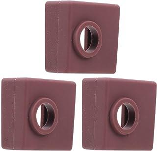 【𝐍𝐞𝒘 𝐘𝐞𝐚𝐫𝐬 𝐆𝐢𝐟𝐭𝐬】頑丈な保証品質のシリコンヒートブロックカバー、プリンターヒートブロックカバー、3Dプリンターオフィス機器3D印刷用の軽量耐久性MK7 / 8/9