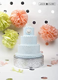 Best silver cake stands for wedding cakes Reviews