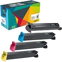 Do it Wiser Compatible Toner Cartridge Replacement for Konica Minolta BizHub C353 C253 C203   TN213K TN213C TN213M TN213Y (4 Pack)